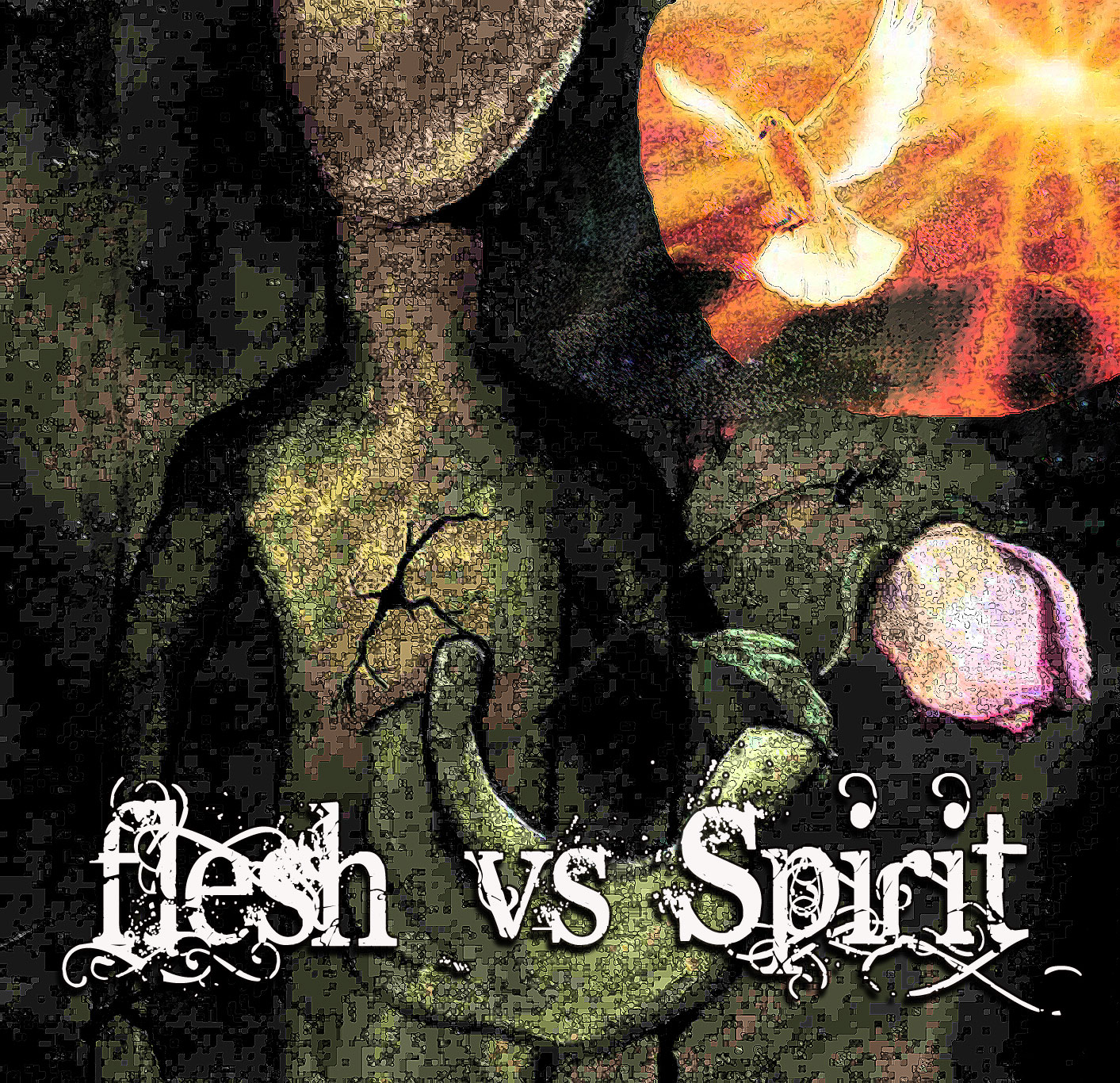 "the flesh and the spirit Jesus explained to nicodemus, ""that which is born of the flesh is flesh, and that which is born of the spirit is spirit"" (john 3:6) later jesus."