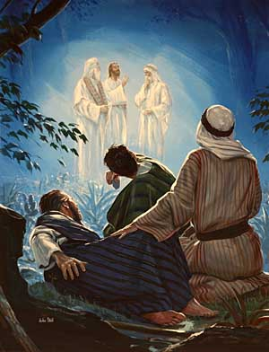 Image result for image of moses and elijah in the transfiguration