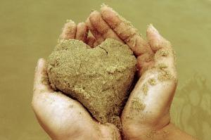 sandy-heart